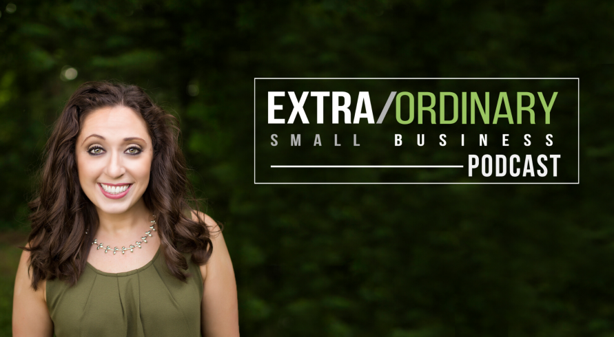Angela Giovine, Host,Extra/Ordinary Small Business