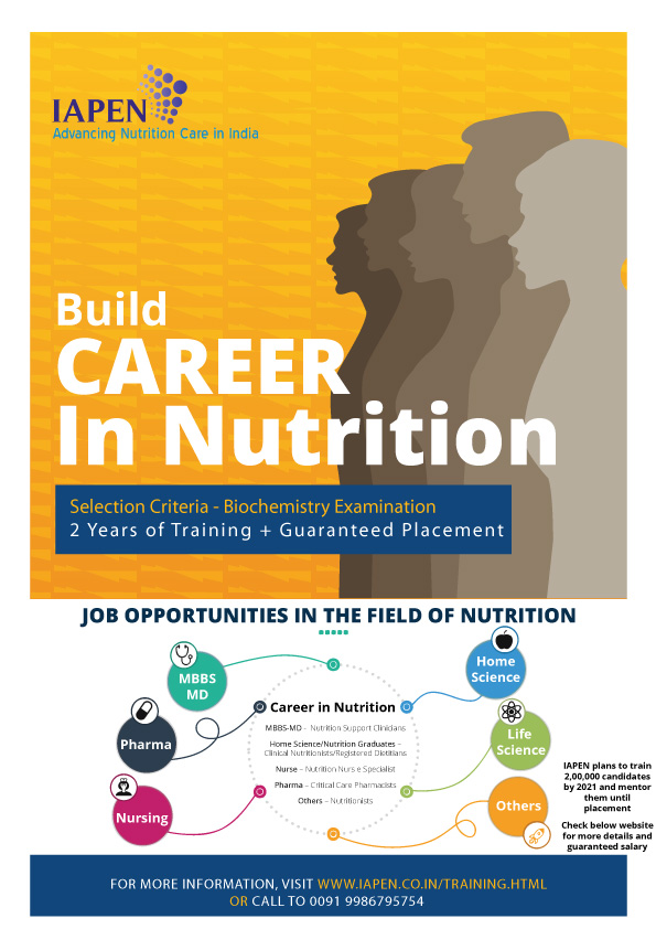 Build your career in Nutrition
