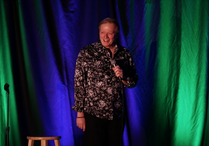 Comedian Guy Fessenden Welcomes You Nightly