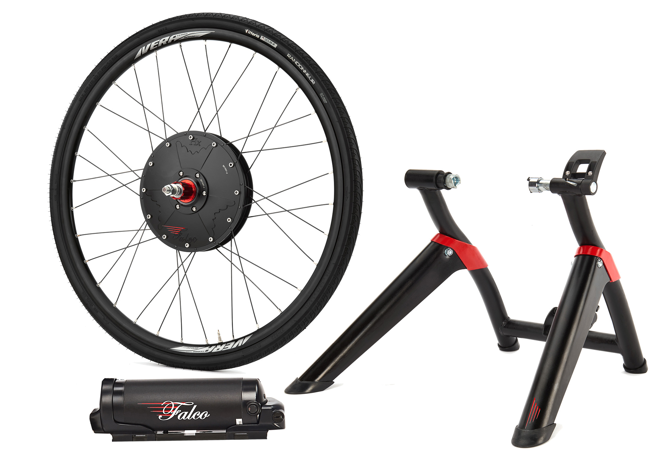 Falco Edrive Motor Battery And Trainer Black