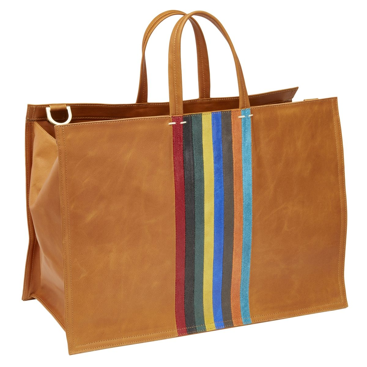 Iris Skinny Stripe Travel Tote