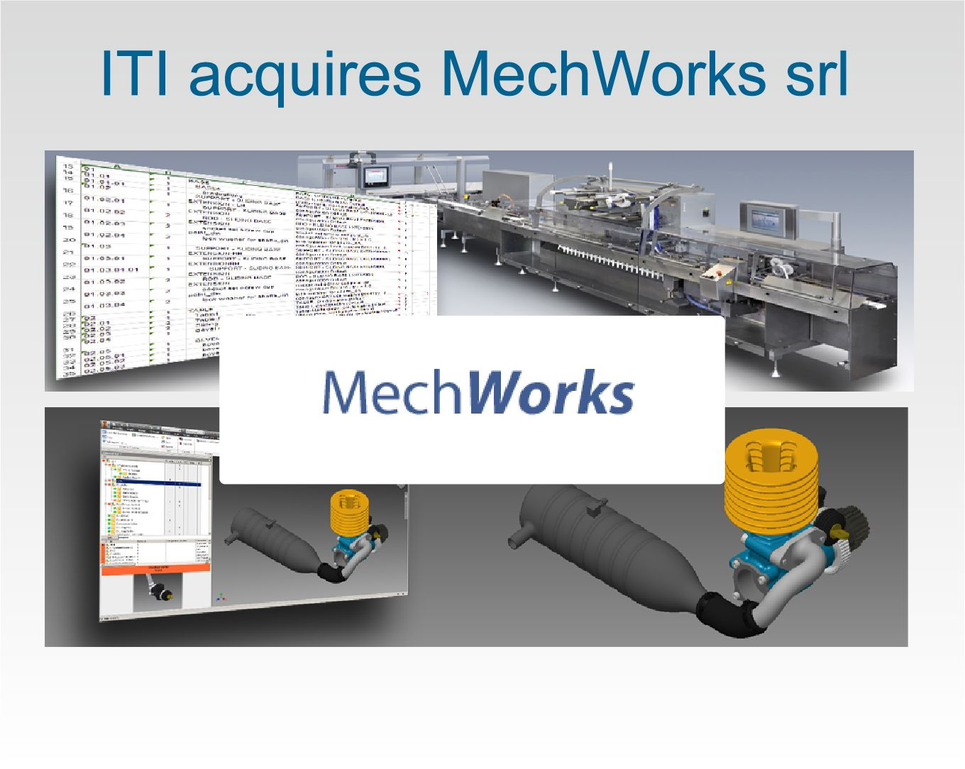 ITI acquires MechWorks srl