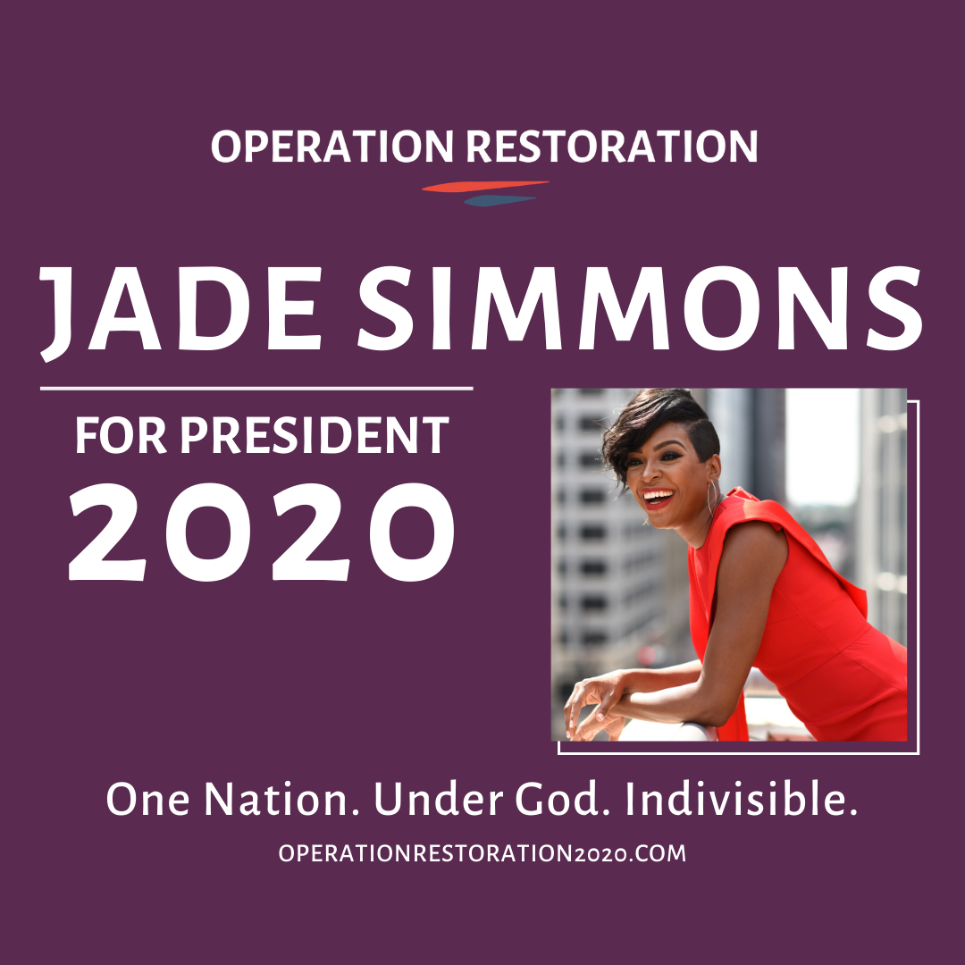 Jade Simmons For President