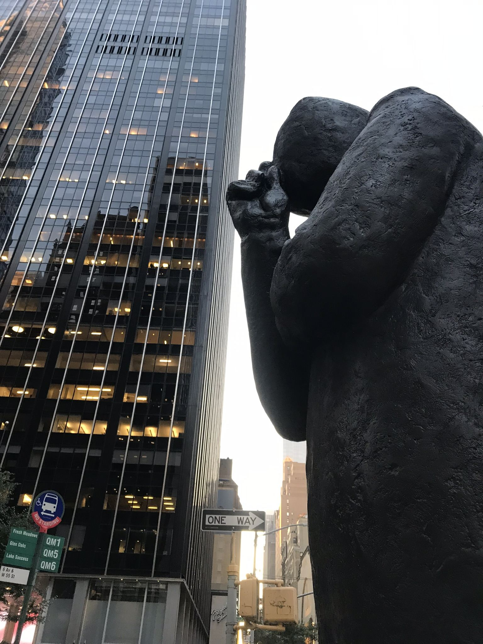 """Listen' by Jim Rennert at 1350 Avenue of The Americas"