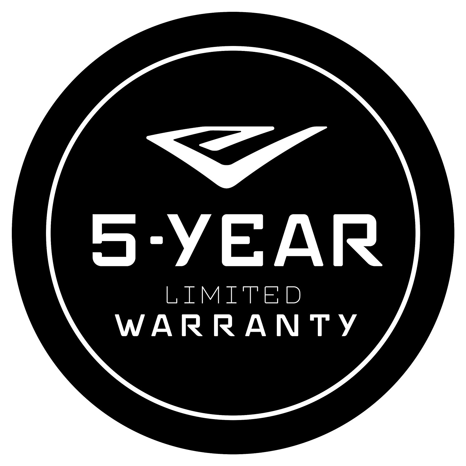 VERSA carries a 5-year limited warranty vs. only 2 or 3 years for other tillers