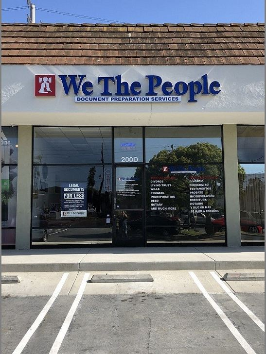 We The People Document Preparation Services, Torrance, CA