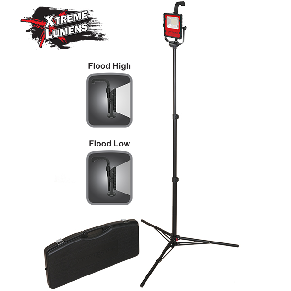 XPR-5590RCX - Certified Scene Light Kit with 6' tripod